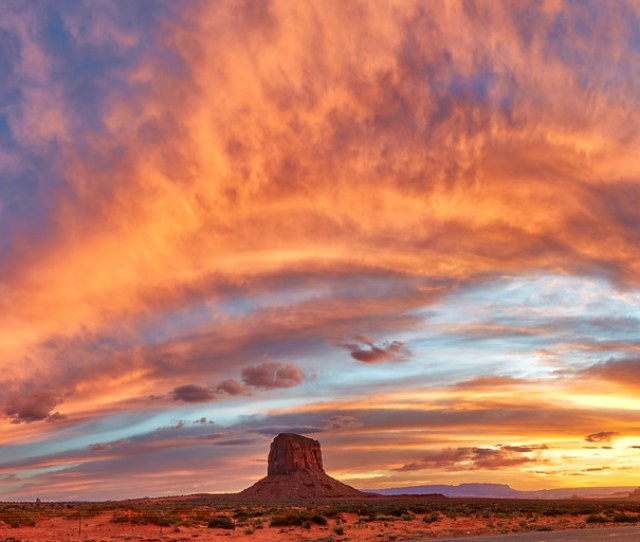 Fire In Monument Valley By Kp Tripathi Kps Photo Com