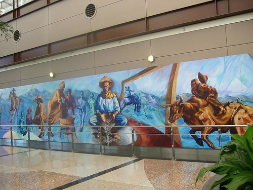 Mural Denver Airport Denver Colorado Mural Denver
