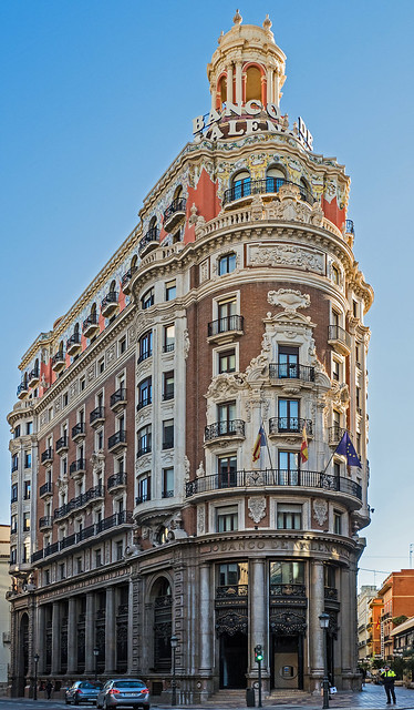 The Banco de Valencia Building (Valencia - Spain) (Olympus OM-D EM5II & M.Zuiko 12-100mm f4 Travel-Zoom) (1 of 1)