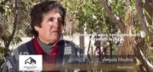 Angela Medina. Vecina de San José