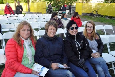 Carina Arvefalk, Anne-Lie Augustsson, Lisa Karlsson och Yvonne Arvefalk