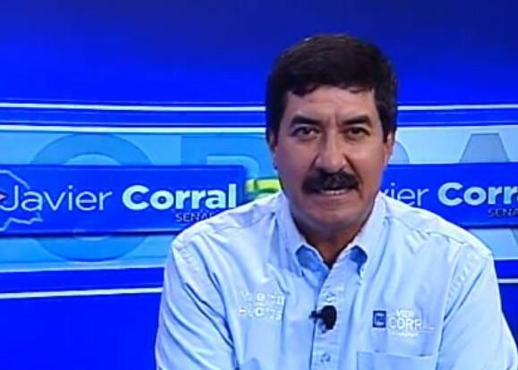 Confirma Javier Corral que busca presidencia del PAN