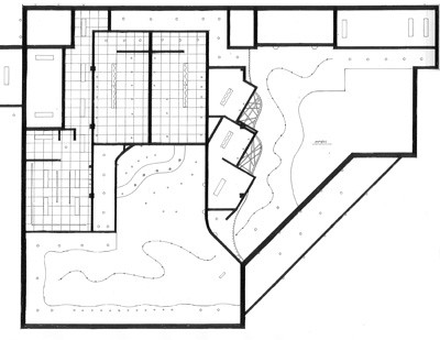 First Floor Reflected Ceiling Plan  RCP showing curved