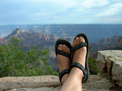 Sit Back Relax Put Your Feet Up Grand Canyon North