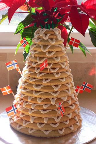 Kransekake  A DanishNorwegian weddingNew Years