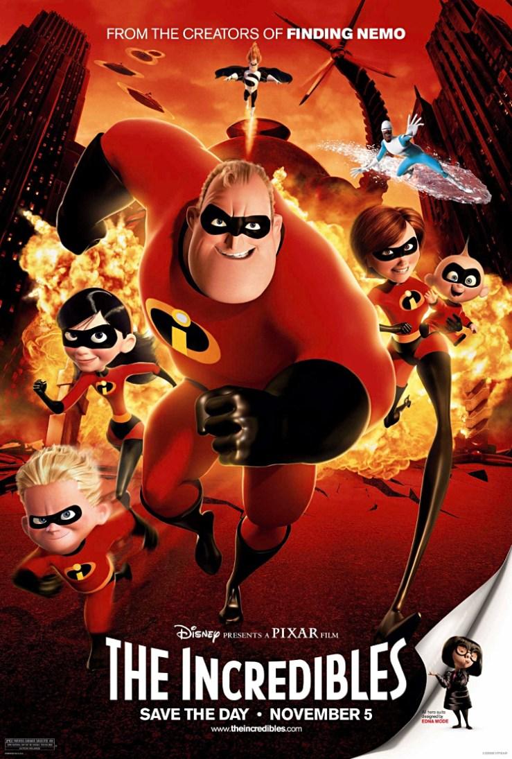 Ihmeperhe-juliste | Pixar-perjantai: Ihmeperhe - Disnerd dreams