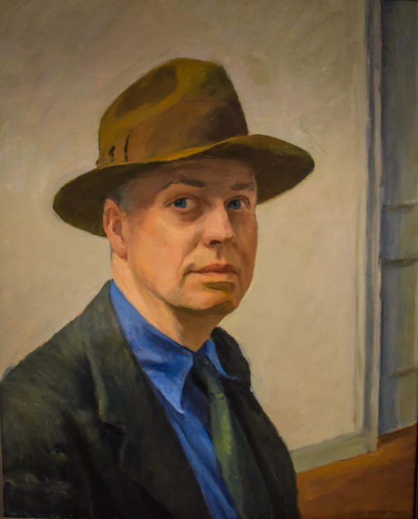 Edward Hopper - Portrait 1930 Whitney Museum Of