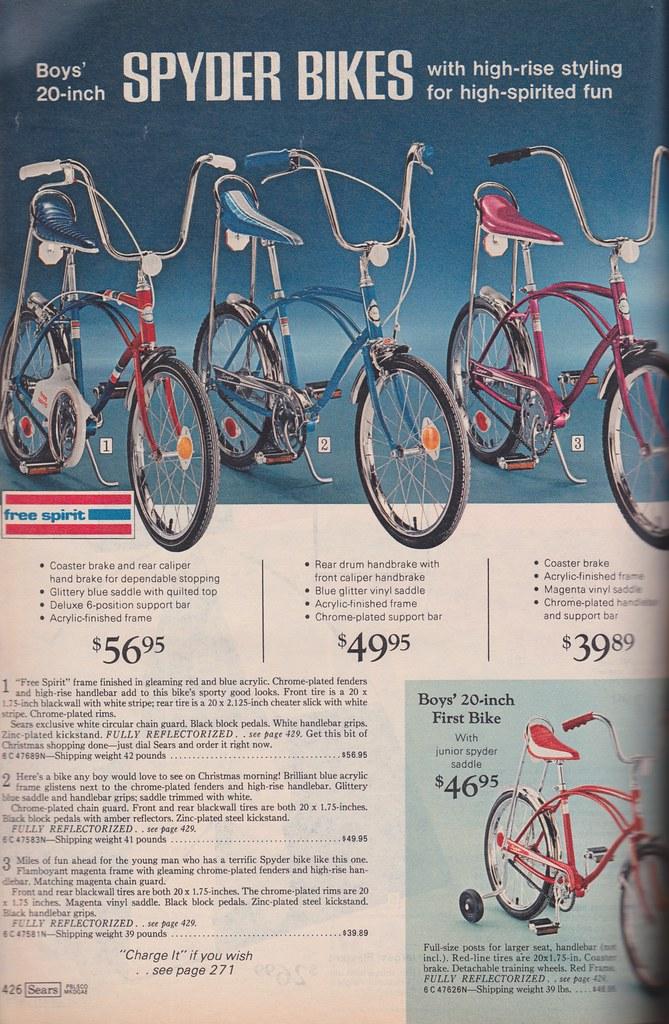 Sears Wish Book 1973 Spyder Bikes Barbiescanner Flickr