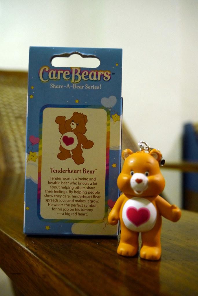 Care Bears Share-a-Bear 006 Tenderheart Bear