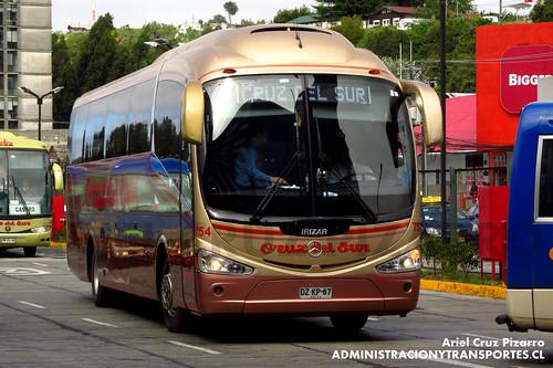 Cruz del Sur - Puerto Montt - Irizar I6 / Mercedes Benz (DZKP67)