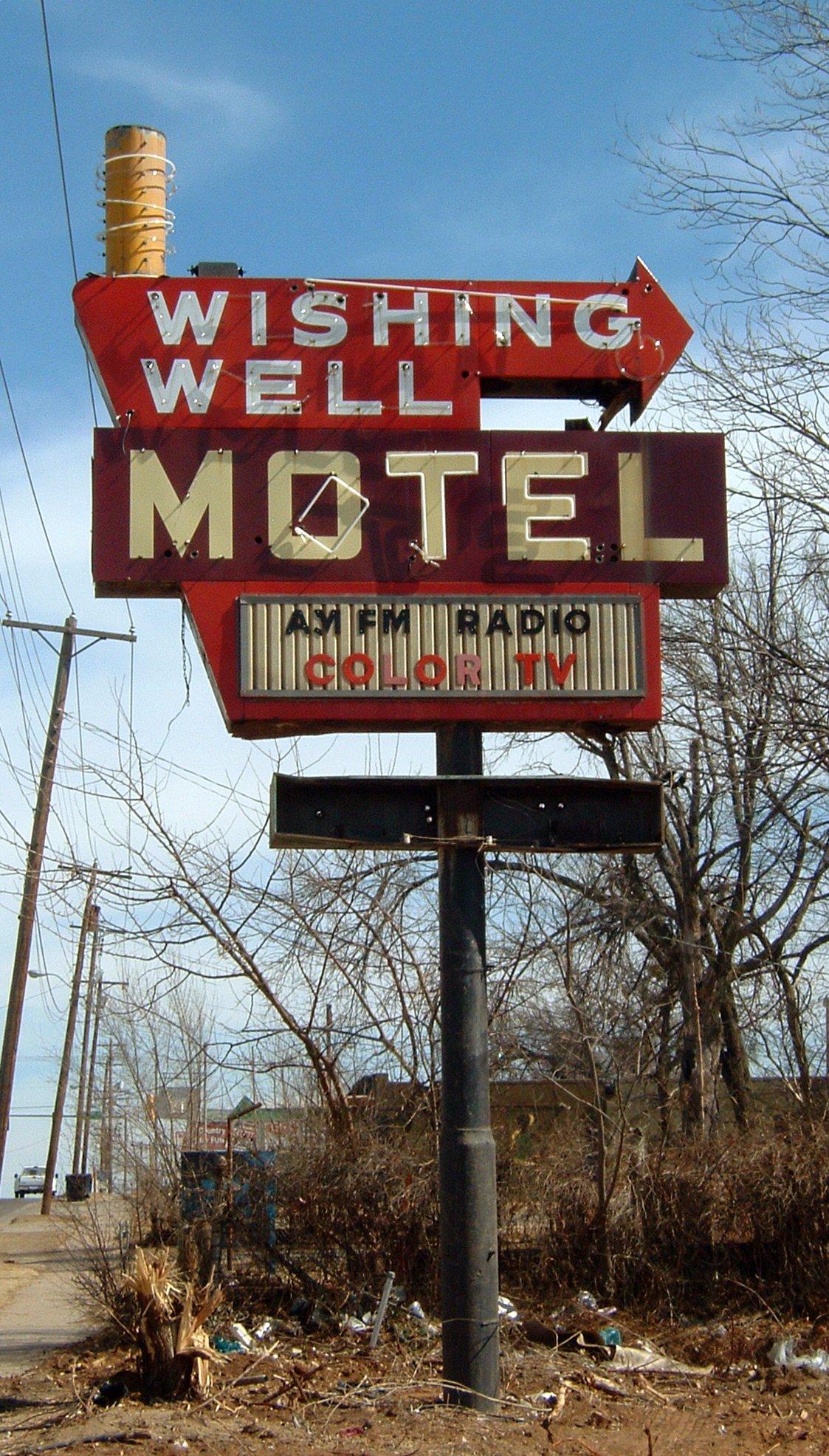 Wishing Well Motel - Oklahoma City, Oklahoma U.S.A. - February 28, 2006