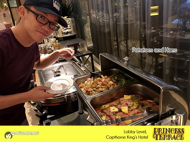 Copthorne Kings Princess Terrace Christmas Buffet Peps Goh
