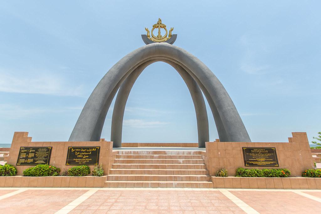 Billionth Barrel Monument  Brunei  The monument was