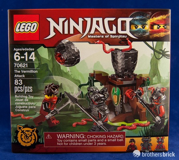 LEGO Ninjago 70621 The Vermillion Attack [Review] | The Brothers ...