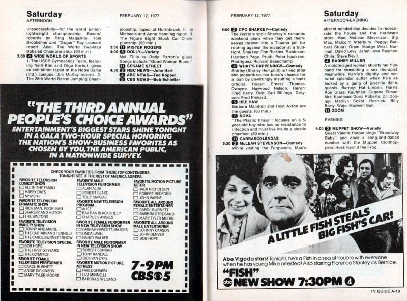 TV Guide (Feb 12-18, 1977)