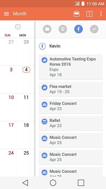 Calendar LG REVELA LA NUEVA INTERFAZ INTUITIVA UX 4.0