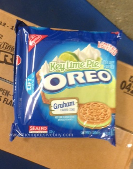 Nabisco Limited Edition Key Lime Pie Oreo Cookie