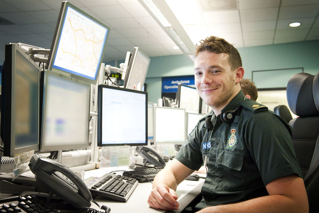 Clinical Team Leader Alec Wilding with our Clinical Hub