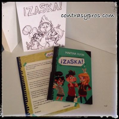 """Libro """"¡Zaska!"""", de Martina Klein"""