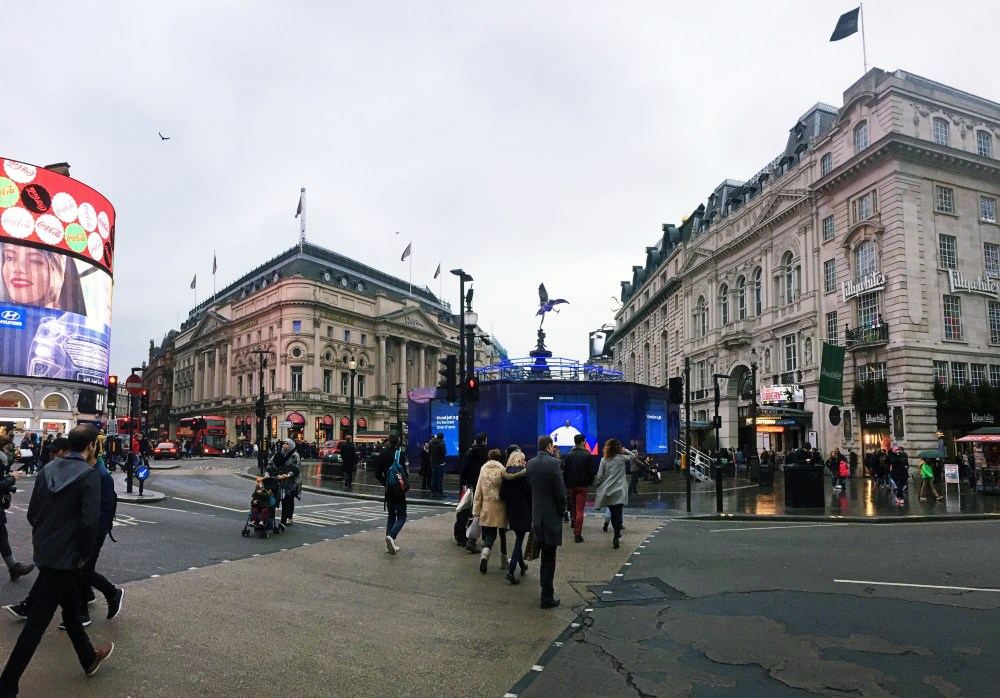 8 Dec 2016: Piccadilly Circus | London, England