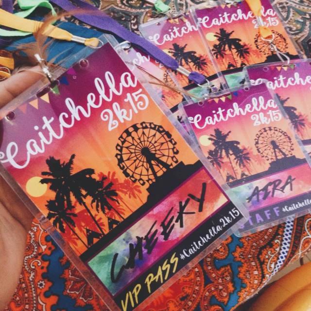 Caitlin S Coachella Themed Party 1st Birthday Party