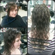 spiral perm long hair beach wave