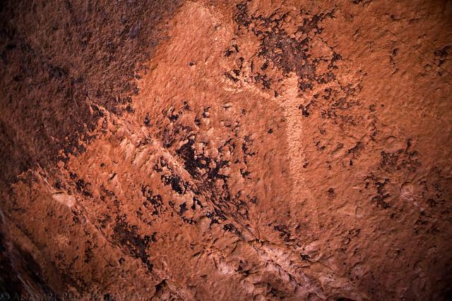 Little Dominguez Petroglyph