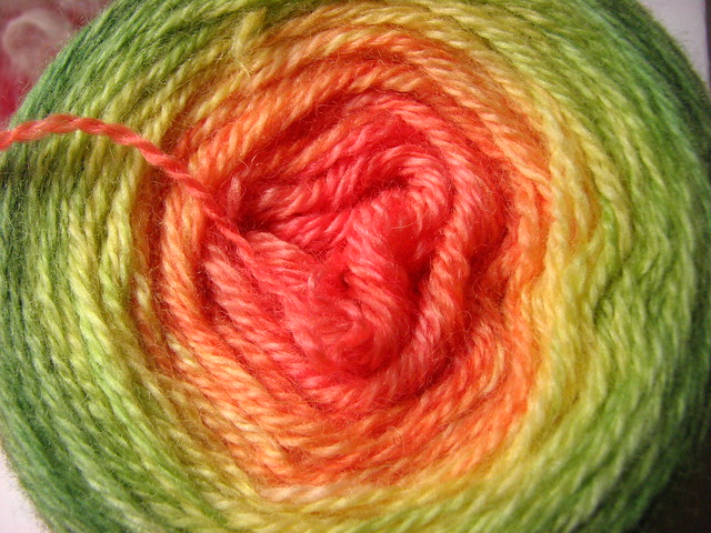 Hibiscus Gradient Shawl Yarn
