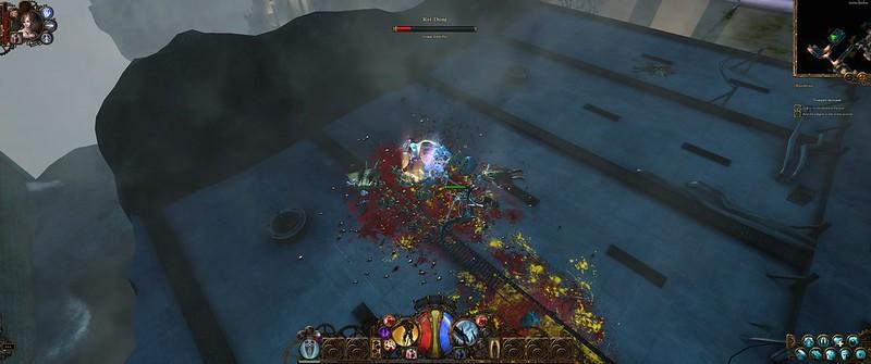 Al zwaaiend met zijn zwaard en met wat hulp van Katarina kan Van Helsing alles aan!