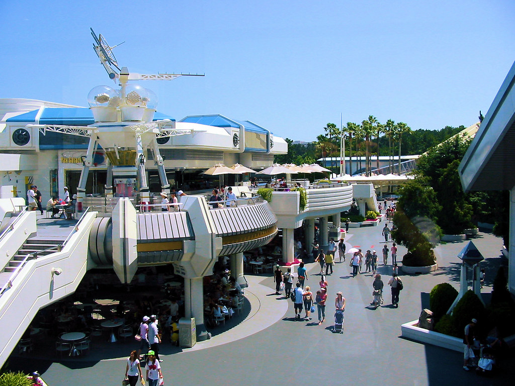 Disneyland Tokyo  Tomorrowland  Locate this place