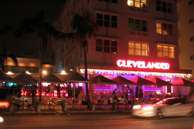 Miami Beach  South Beach The Clevelander  The