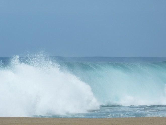 Kauai, the Garden Island of Hawaii: wave watching