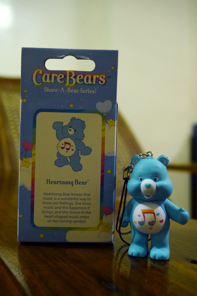 Care Bears Share-a-Bear 002 Heartsong Bear