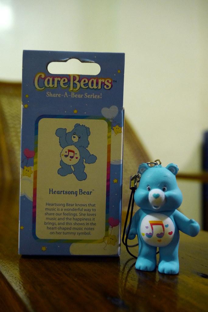 Care Bears Share-a-Bear 002 Heartsong Bear