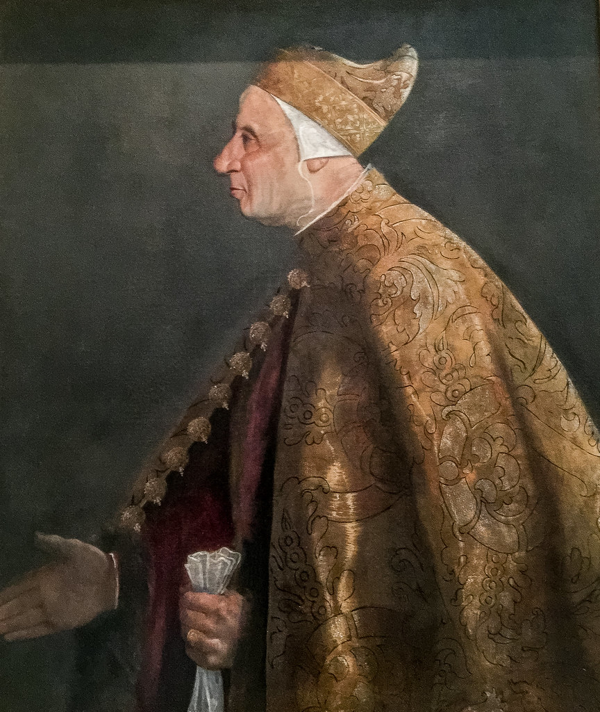 Titian Tiziano Vecellio  Portrait of the Doge Niccolo