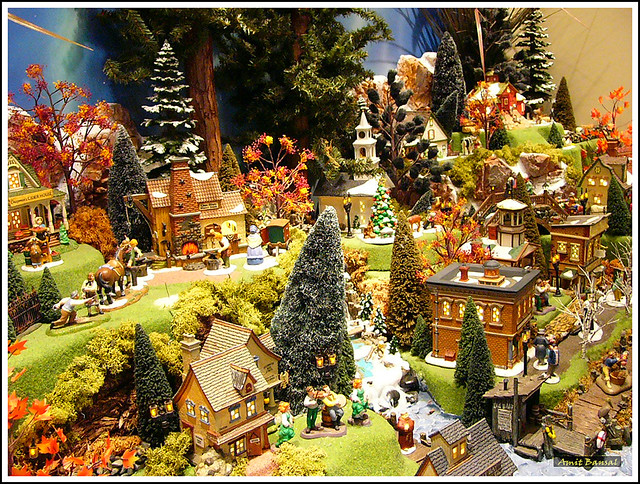 Department 56 Village Theme  Village theme created by the