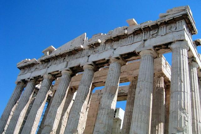 Athens  Acropolis Parthenon  West Pediment  The Partheno  Flickr