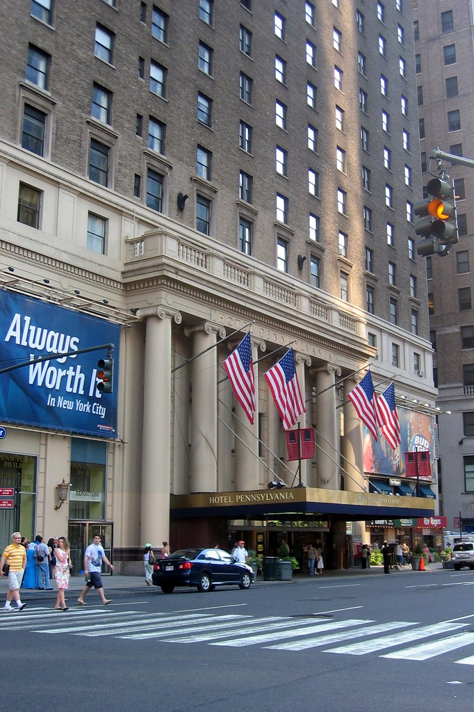 NYC Hotel Pennsylvania  Hotel Pennsylvania The Worlds