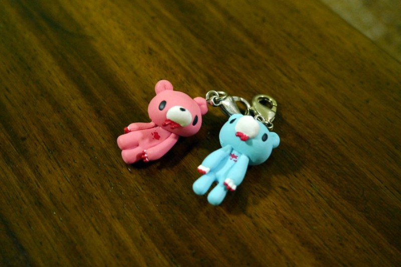 Gloomy Zipper Pulls by Kid Robot 007