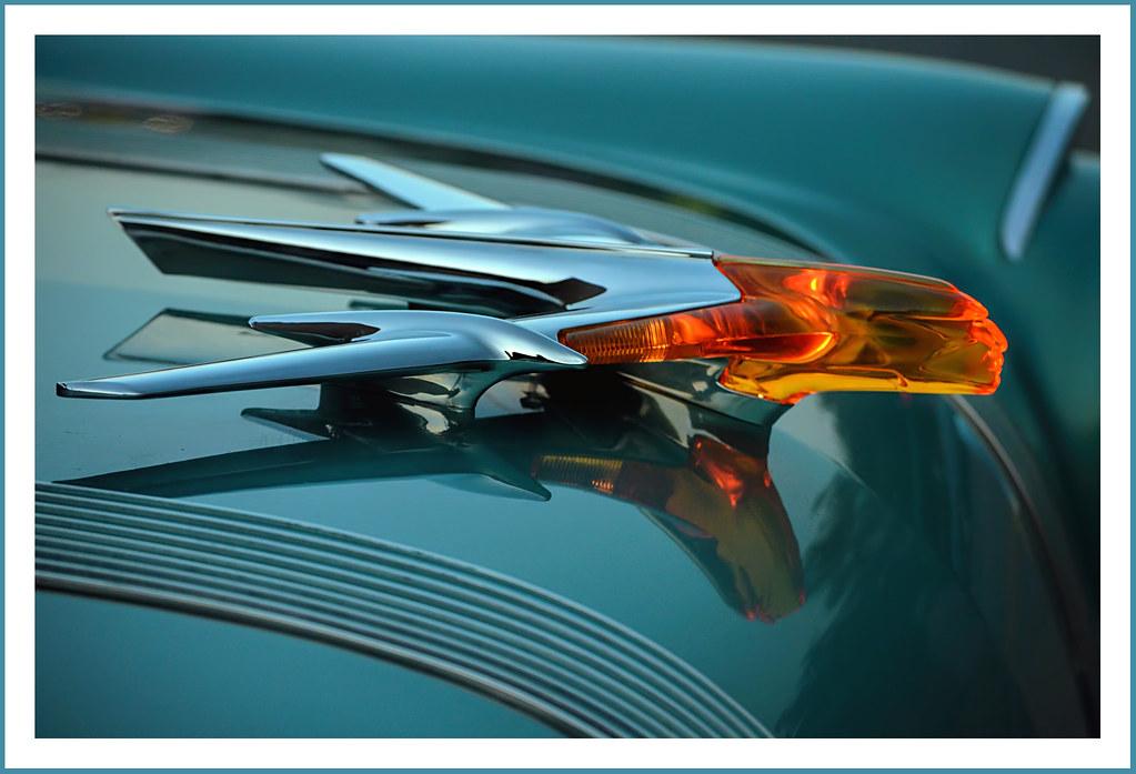 Illuminated 1955 Pontiac Chief Hood Ornament The July 12