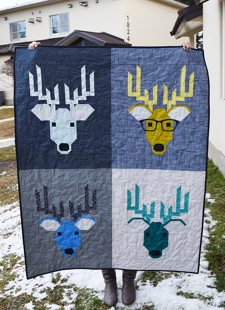 Dwight The Deer Full Quilt