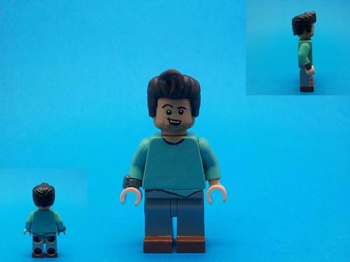 Cheap 3d Wallpaper Lego Custom Stranger Things Steve Harrington First An