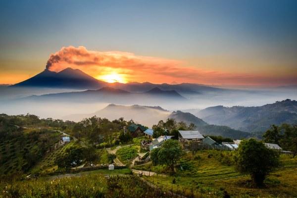 guatemala landscapes taked