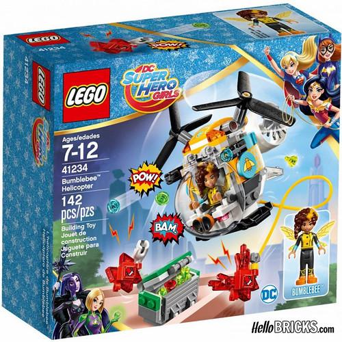 Lego 41234 - DC SuperHero Girls - Bumblebee Helicopter