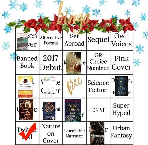 winter book bingo