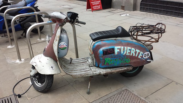 Ratty Scooter
