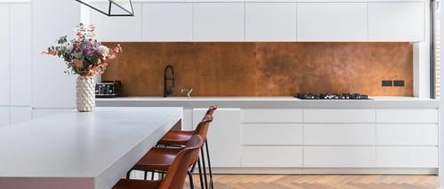 backsplash kitchen miami 137 - aged copper splash back | john rutter flickr