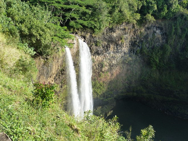 Kauai, the Garden Island of Hawaii: Wailua Falls