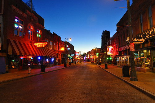 Memphis before dawn
