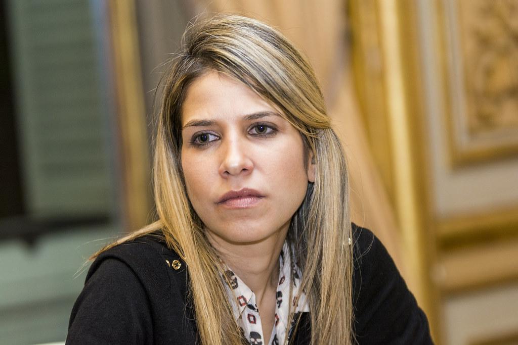 Karina Sainz Borgo periodista_6  Conversacin entre el
